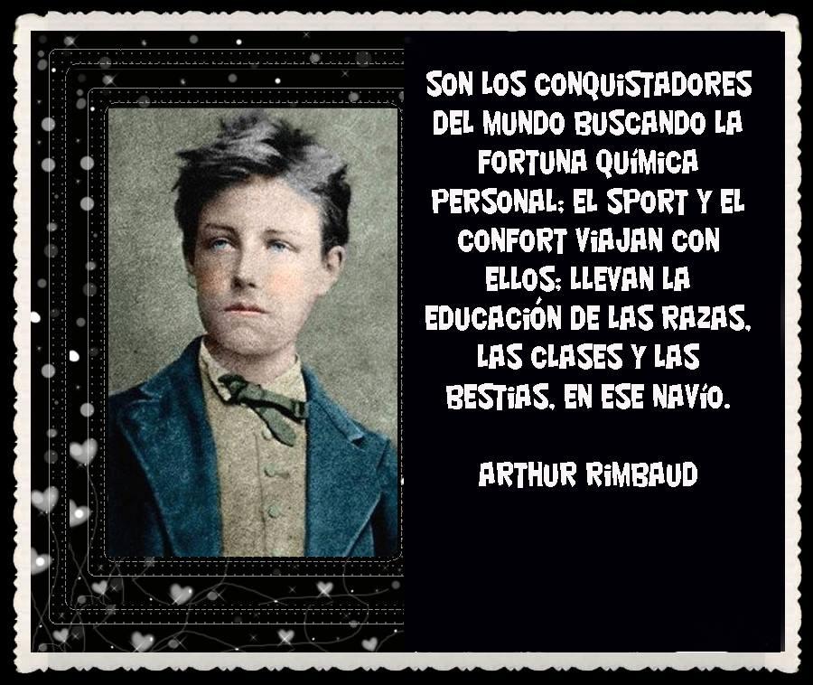 Jean Jean Nicolas Arthur Rimbaud. Poeta maldito. Su
